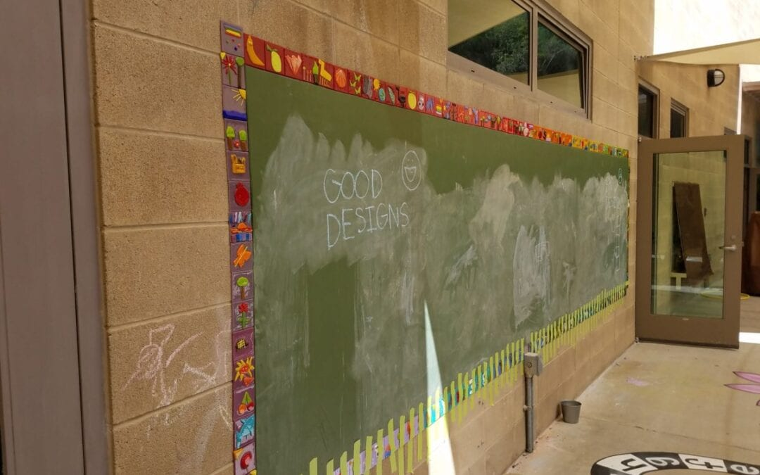 Mural project at the sensory garden- 2019
